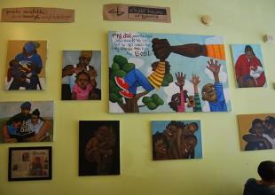 Creating Sweet Art: St. Louis painter balances art with family