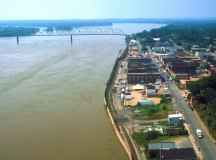 "This photo shows the river town of Cape Girardeau and its downtown strip where many scenes in ""Gone Girl"" were filmed. Photo courtesy of Tripadvisor."
