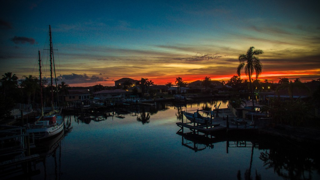 """Iridescent Sunset"" by Joshua Williams, taken in New Port Richey, Florida"