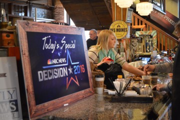 Special signage from NBC add to West End Architectural Salvage's decor.