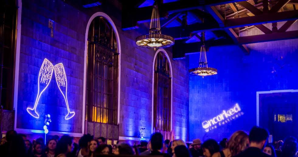 Wine festival put on by Uncorked, celebrated in Los Angeles at Union Station, January 23. Photo Credit: Michelle Harris
