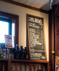 The Civil Life's beer portfolio features simple, malt-driven beers. Owner Hafner says their trademark is malt-driven and sessionable.