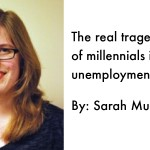 The real tragedy of millennials Is unemployment not selfies