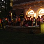 Organization hosts vigil for Michael Brown