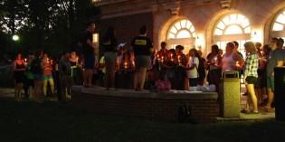 Organization hosts vigil for Michael Brown