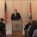 Gov. Nixon visits Truman; Announces Release of Funds