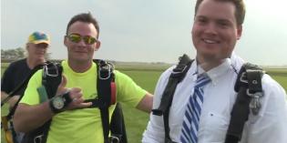 Dan Stewart: The Skydive