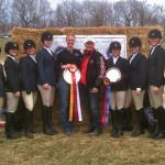 Equestrian Coach Leads Team