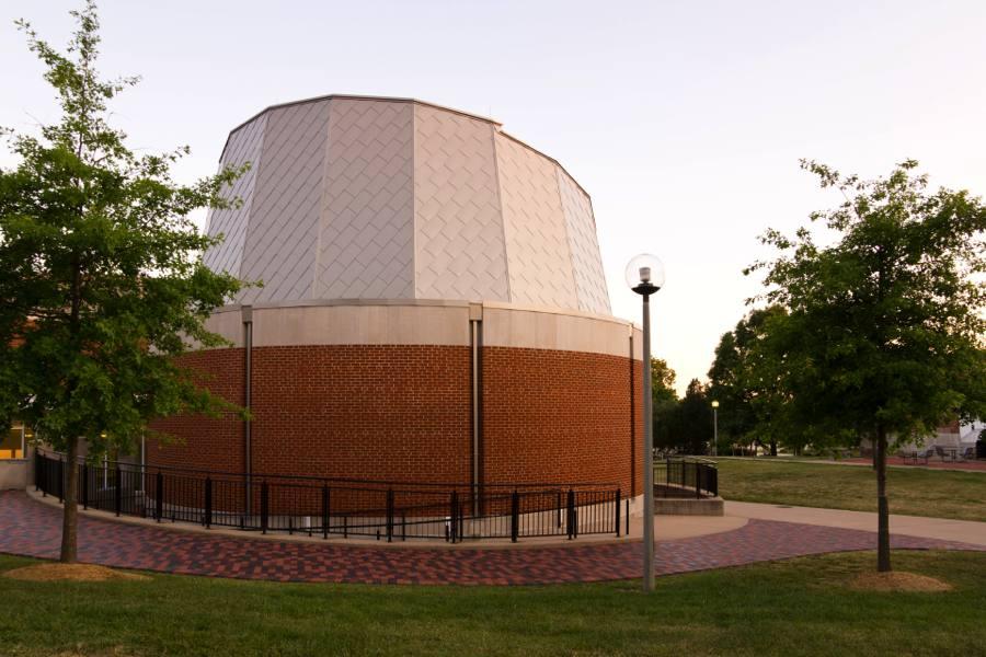 A picture of Del & Norma Robison Planetarium.