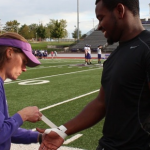 Truman's Athletic Trainers Instrumental to Football Team