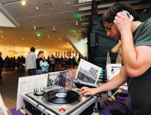 DJ at Untitled