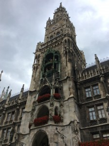 The lovely architecture of Munich.