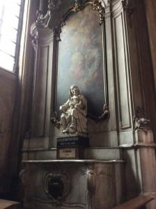 """Madonna on the Rocks"" in Belgium."