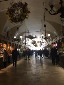 The shopping center in Krakow.