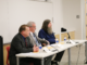 From left to right: Phillip Biston, Glen Moritz and Kevin Alm answer questions at the candidate forum for Kirksville City Council hosted by Kirksville Area Chamber of Commerce.
