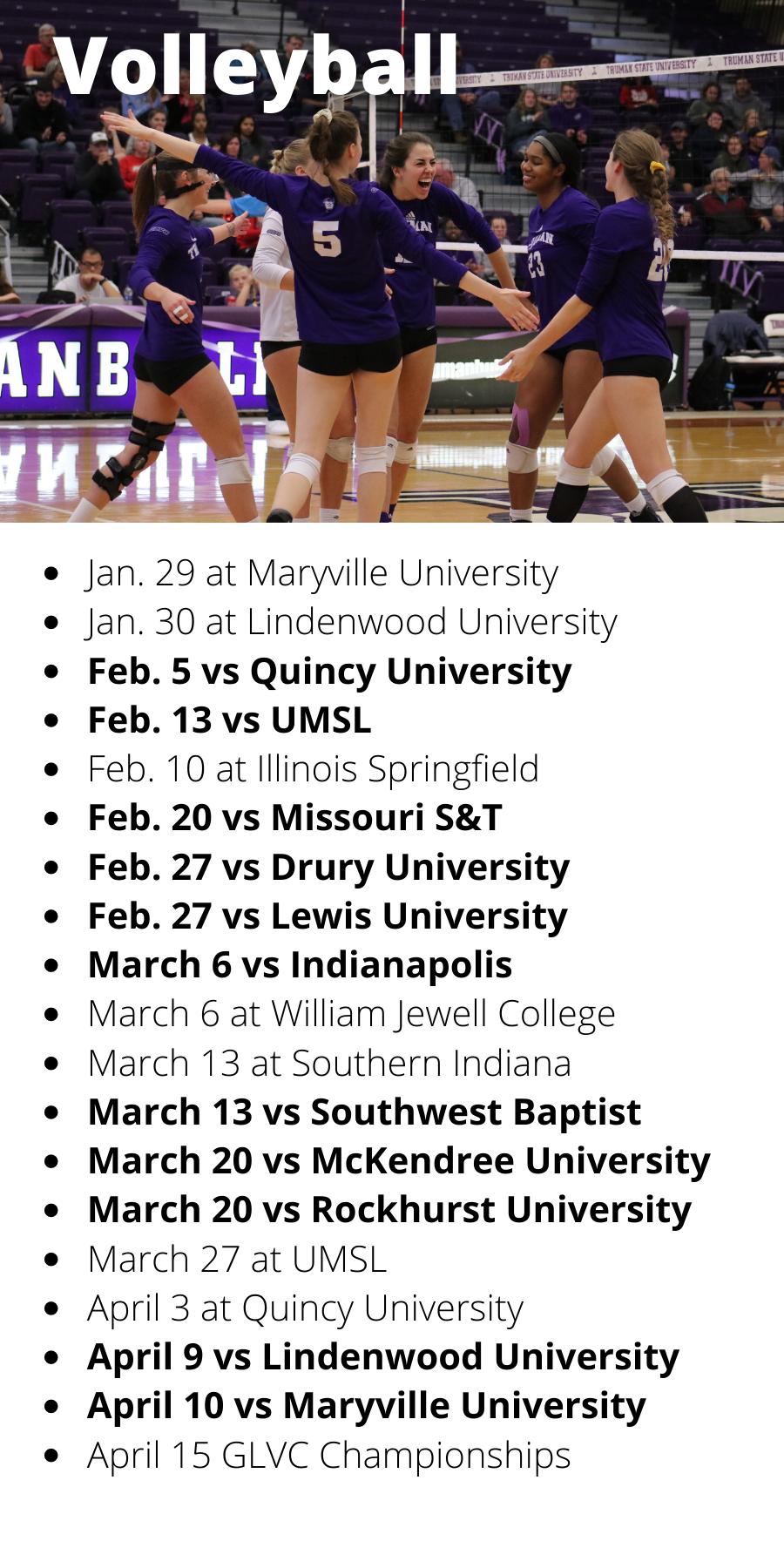 Volleyball Schedule (2)